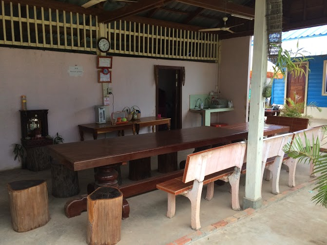 dining hall for the volunteers