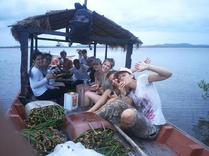 the conservation volunteer crew in cambodia
