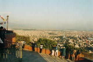 View of Kathmandu