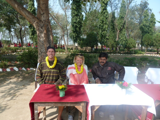 Brian and Lauren in India 2012