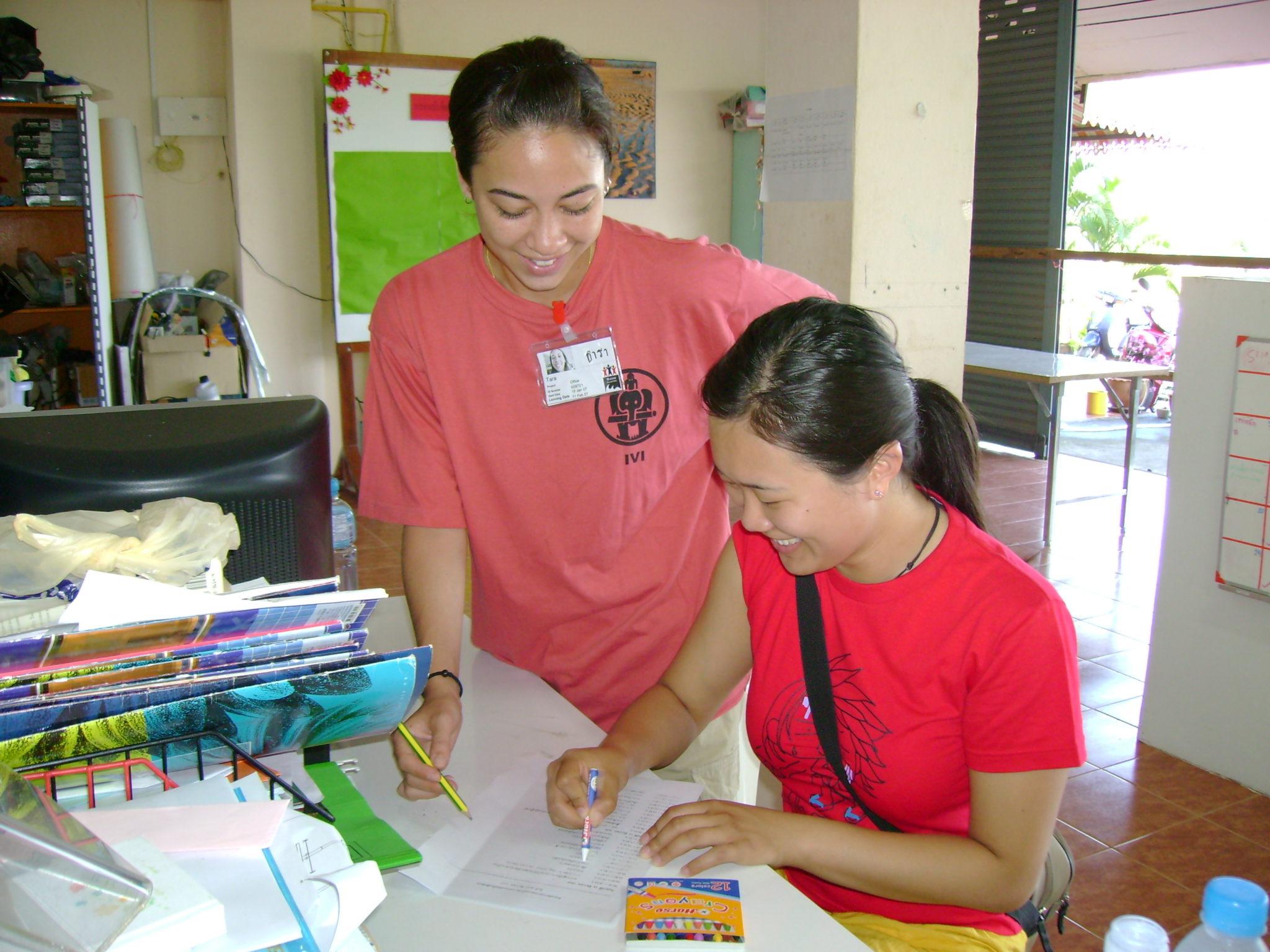 volunteers thailand programs