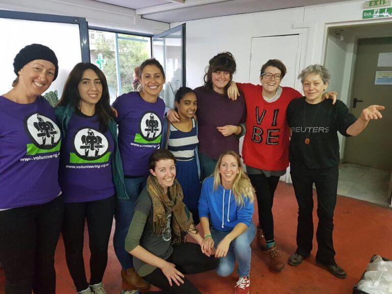 refugee medical team involvement volunteers international