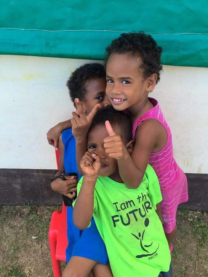 IVI Fiji volunteering