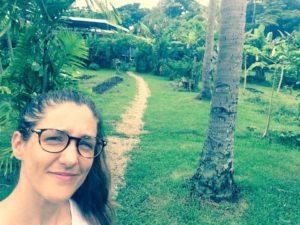 Veronica in fiji nutrition program