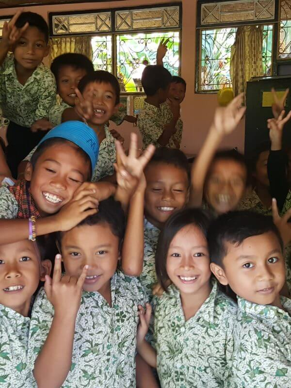 very cute children in Bali