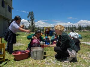 feeding program peru