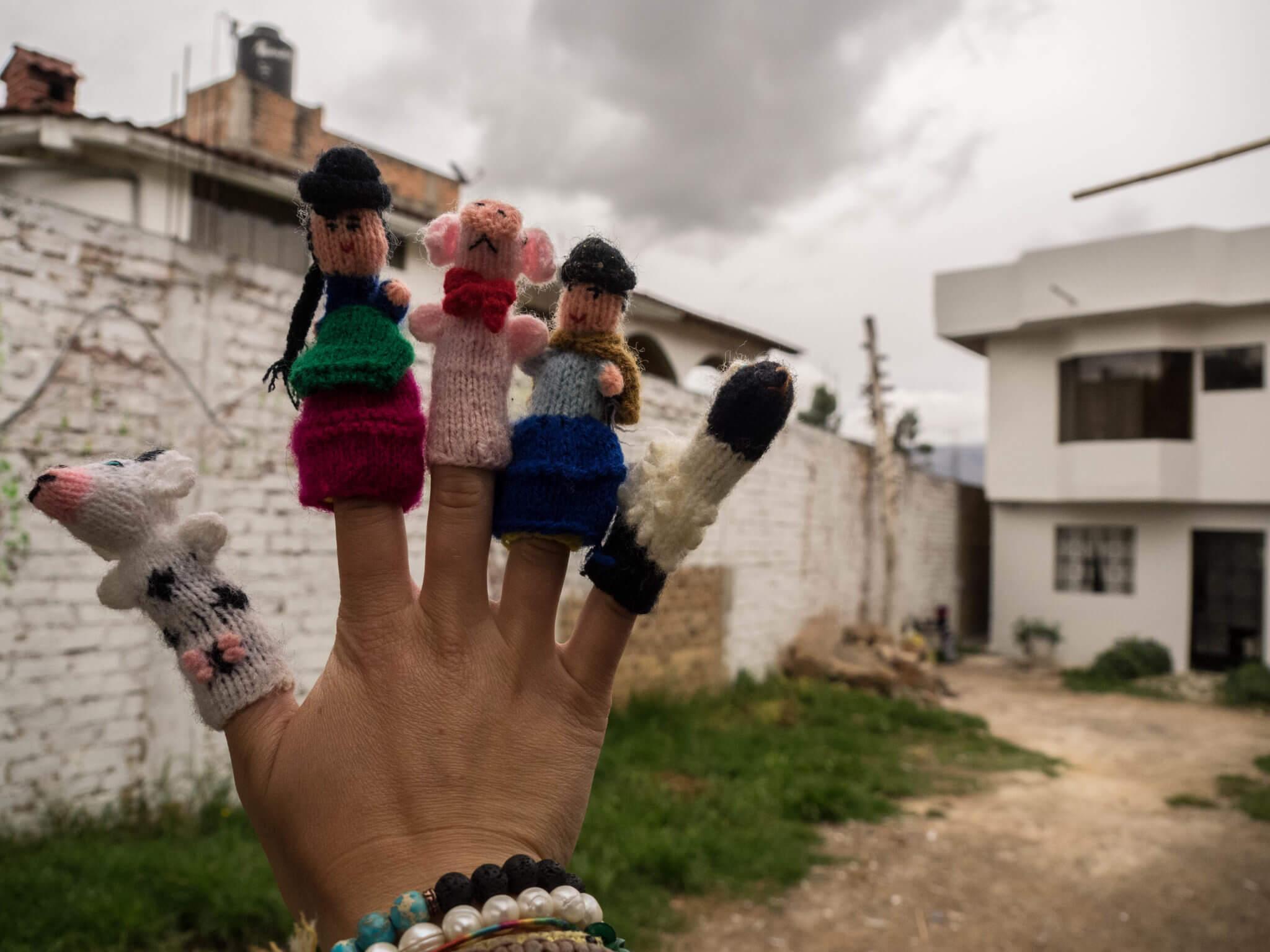 haha finger puppets