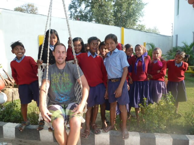 Brian and the bodhi tree kids