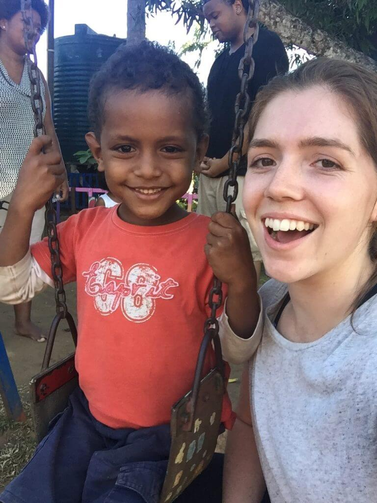 jess kemp 768x1024 - Orphanage Volunteering Fiji 2017