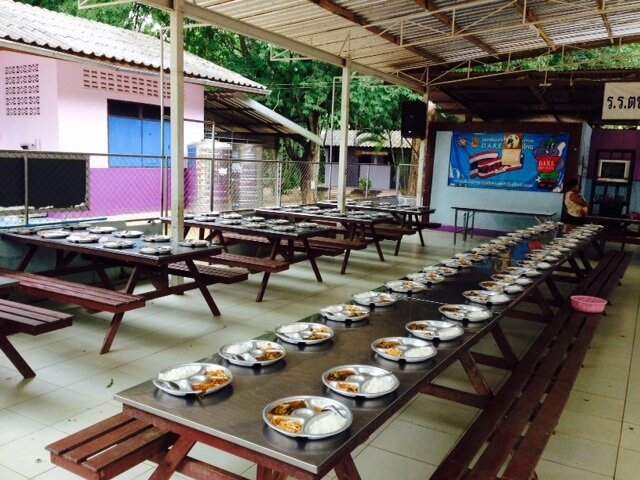 singburi eating center for participants