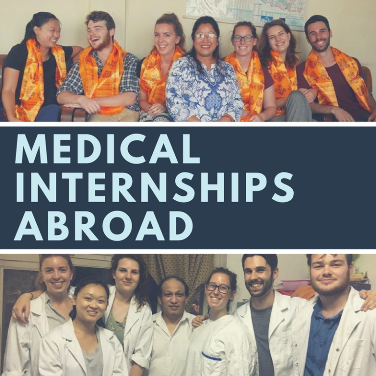 Medical internship opportunities abroad