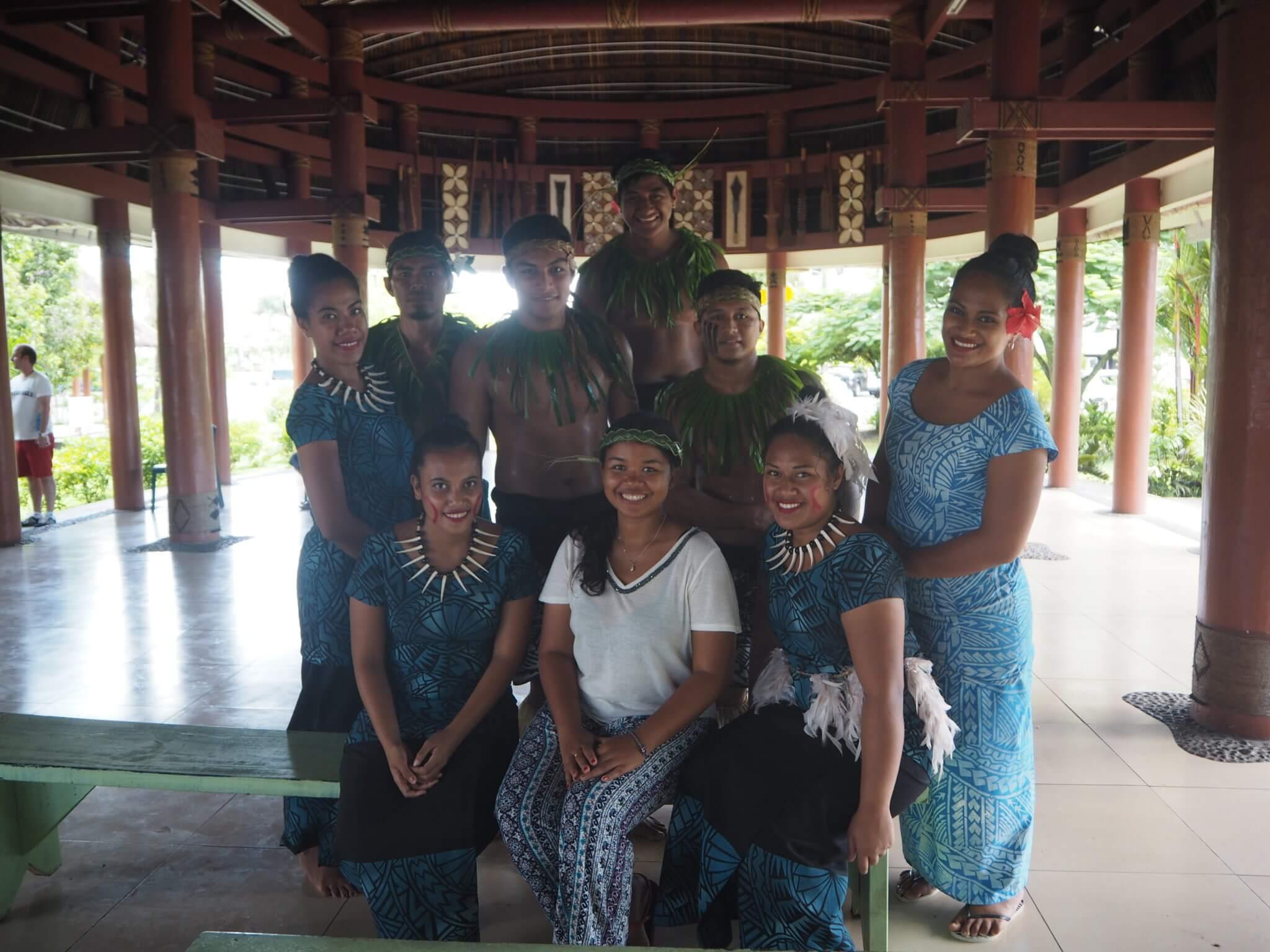 samoa volunteering with IVI