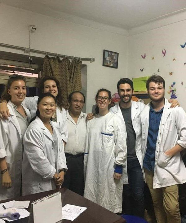 Nepal hospital placements through ivi