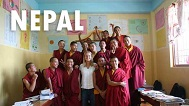 buddhist monestary teaching nepal
