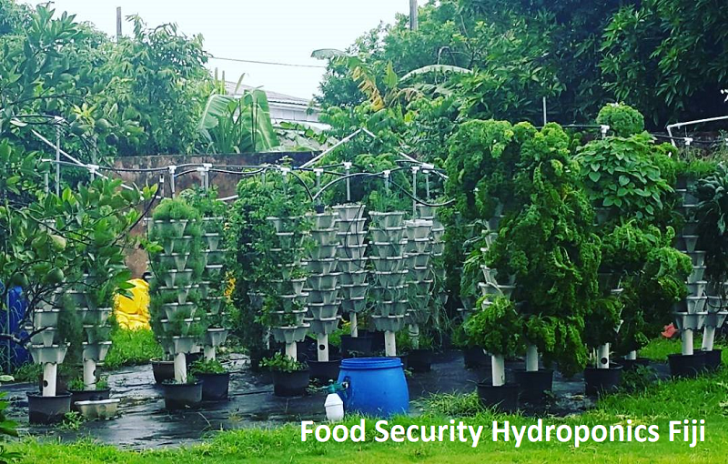 Food security hydroponics fiji - Donate to a Cause