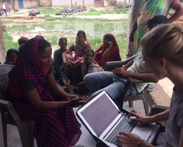 data collection nutrition 600x480 - Nutritional Research Study - Rural India - Sarah Wainewright Nutritionist