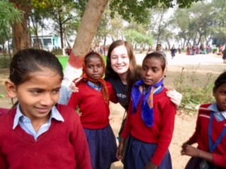 lucy - Bodhgaya India Volunteering - 2017