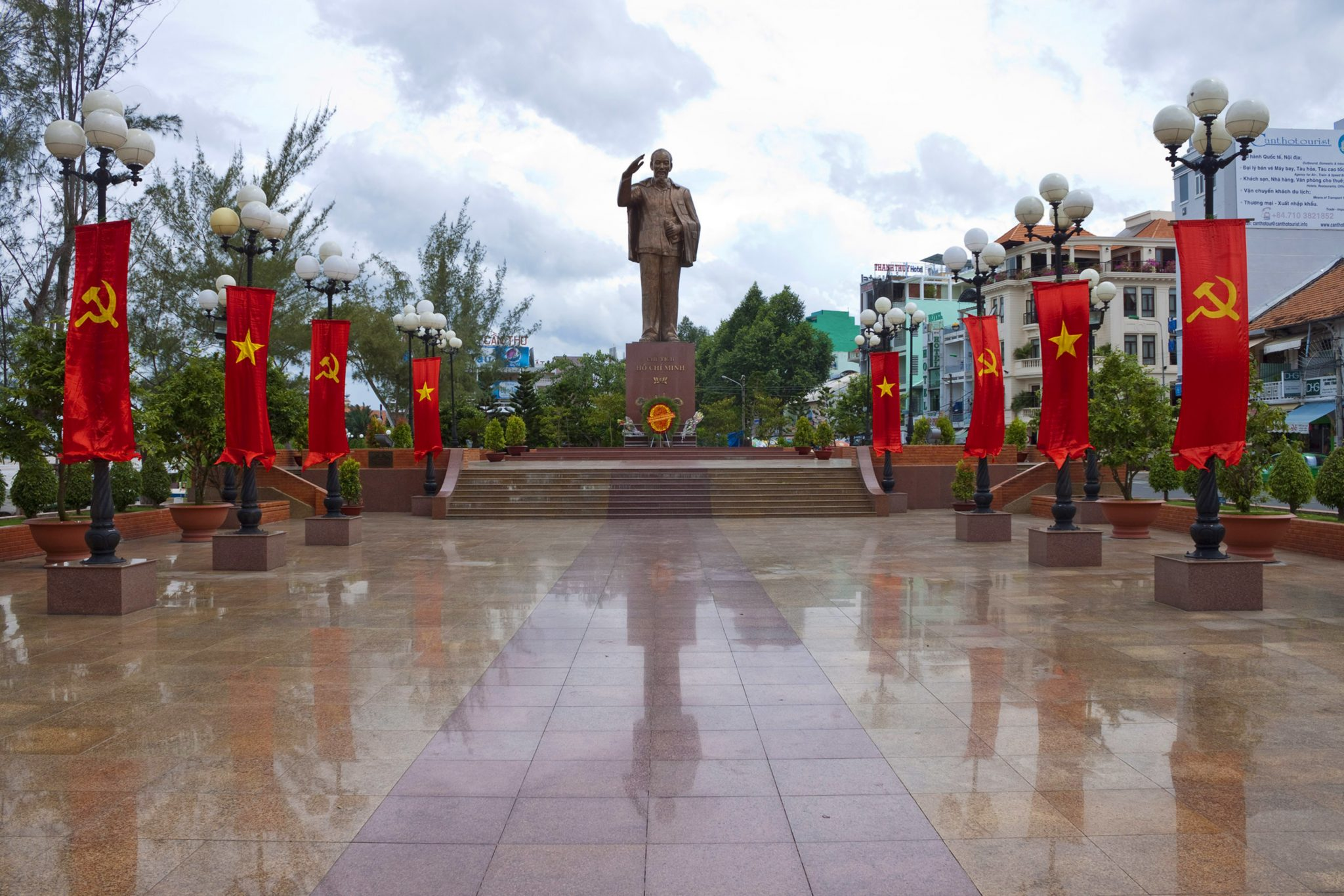 Ho Chi minh scenic monuments