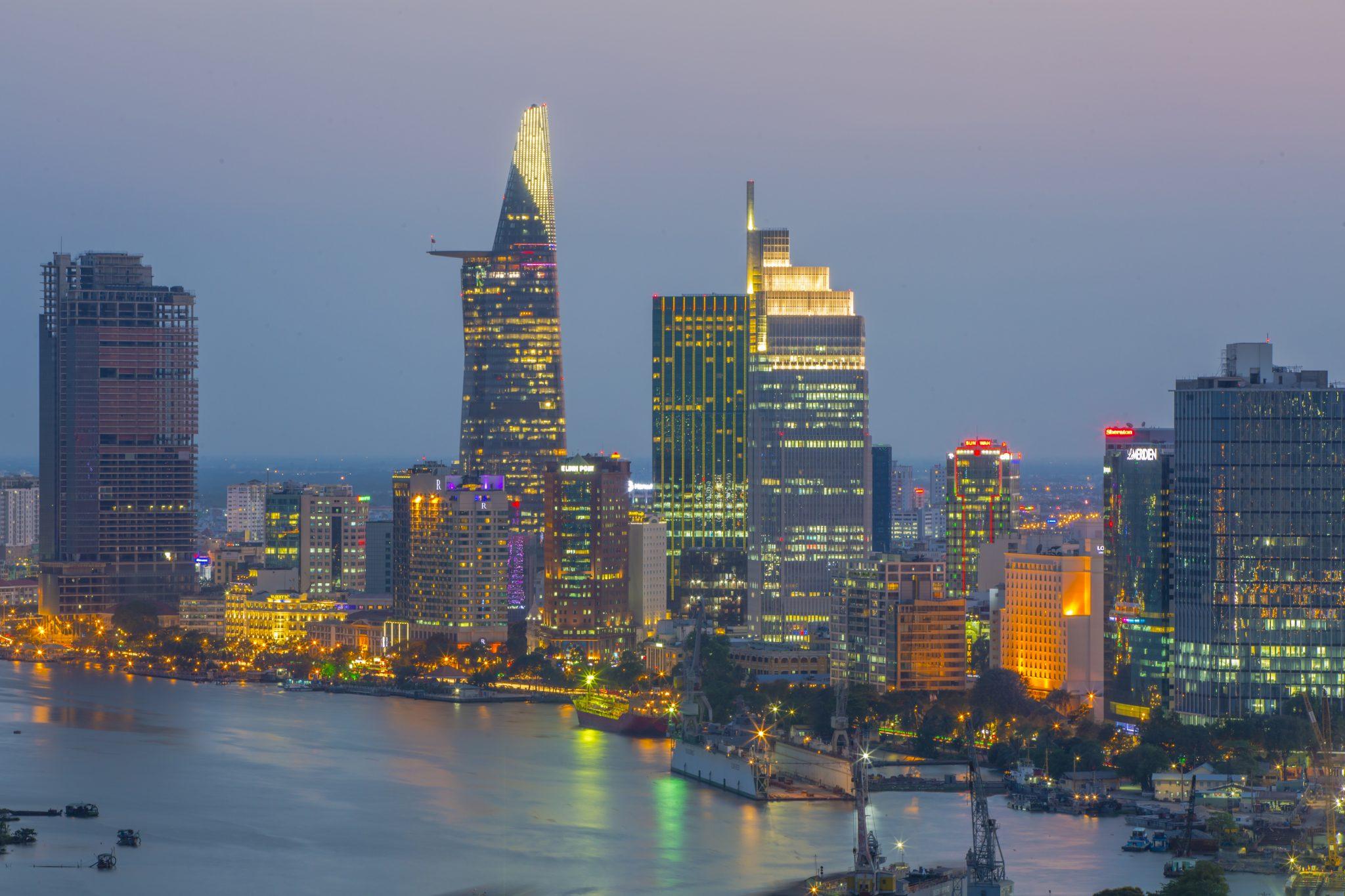 Saigon Skyline Vietnam