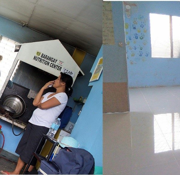 donations 600x582 - New Flooring for Philippines Nutrition Center - Heena Davidson