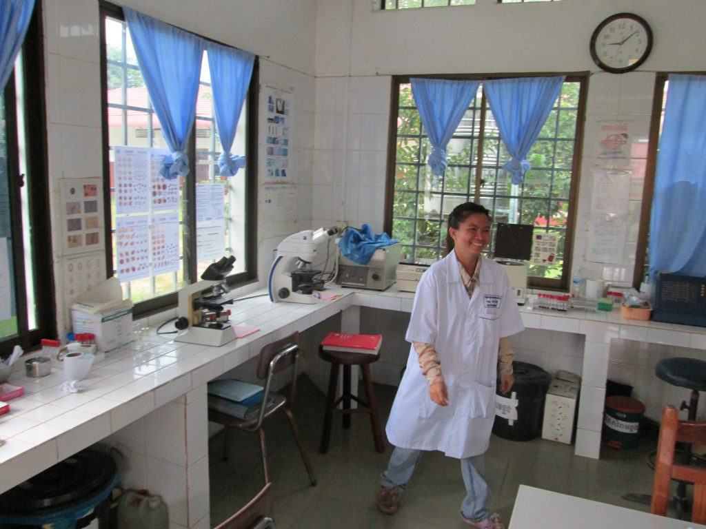 Laboratory 1024x768 - Medical Hospital Internship Cambodia Placement