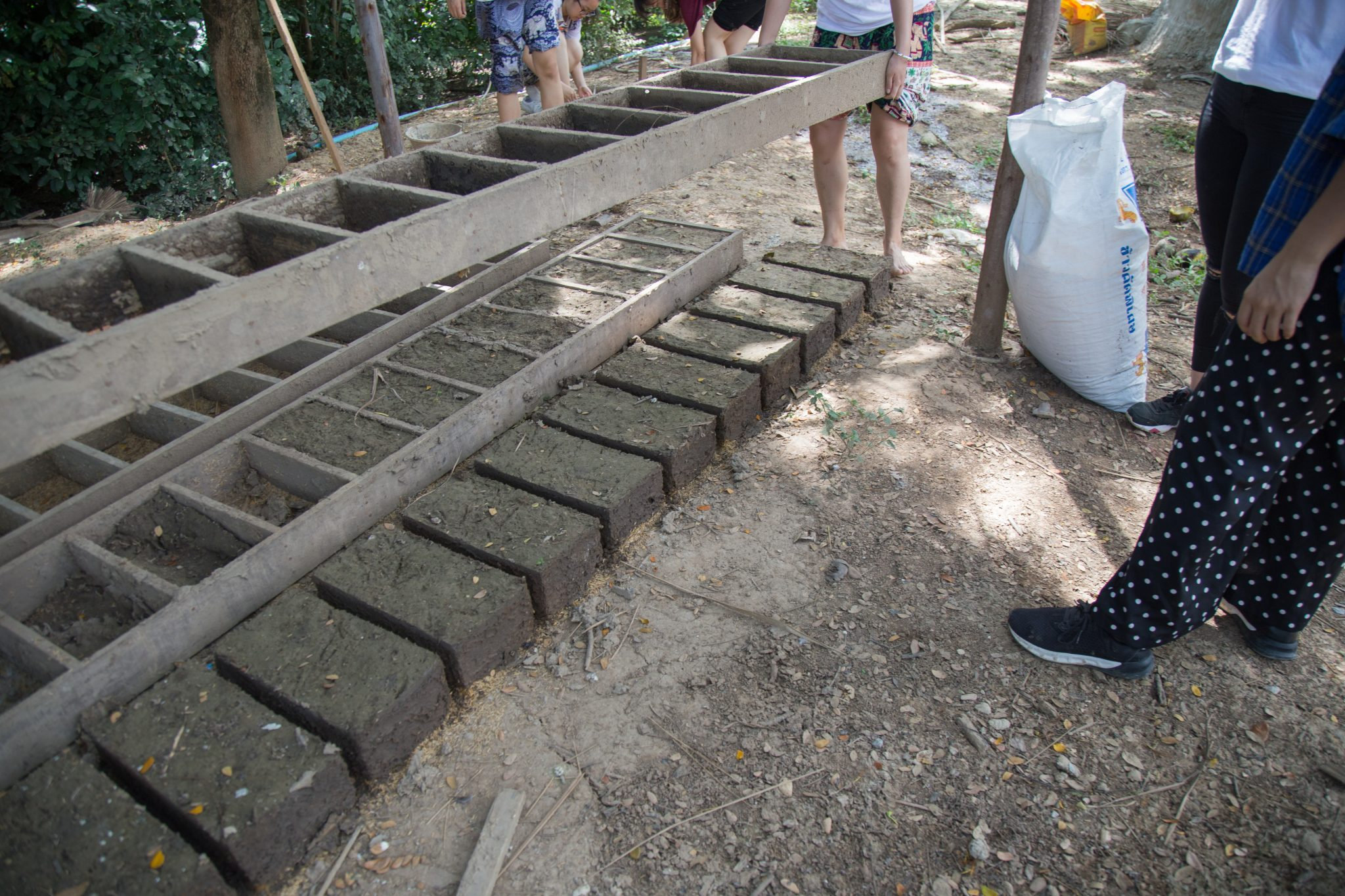 Creating clay bricks (1)