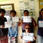 Donation of 1 Years rent to woman and children in Fiji