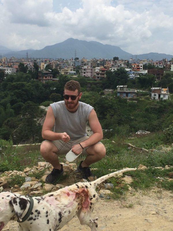 Braeden in Kathmandu
