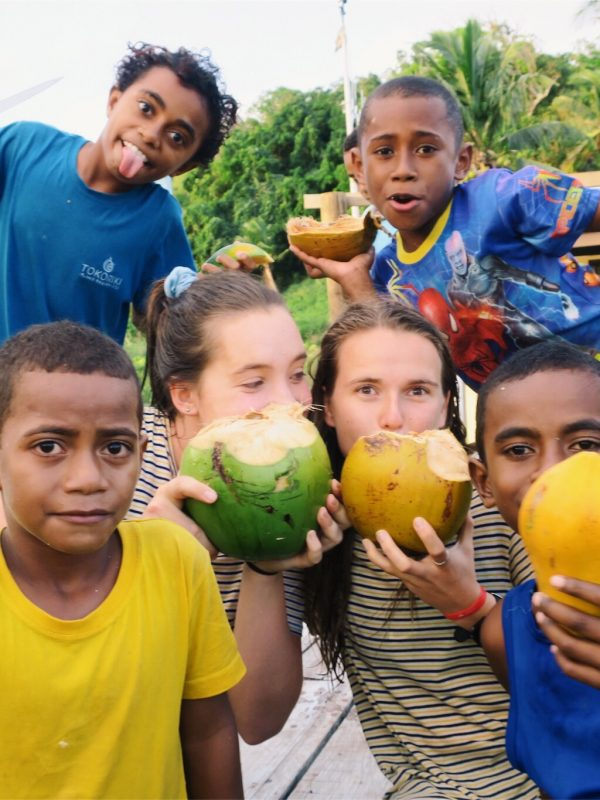 island fiji volunteer teaching program look at those papayas 600x800 - Island Teaching in Fiji Review