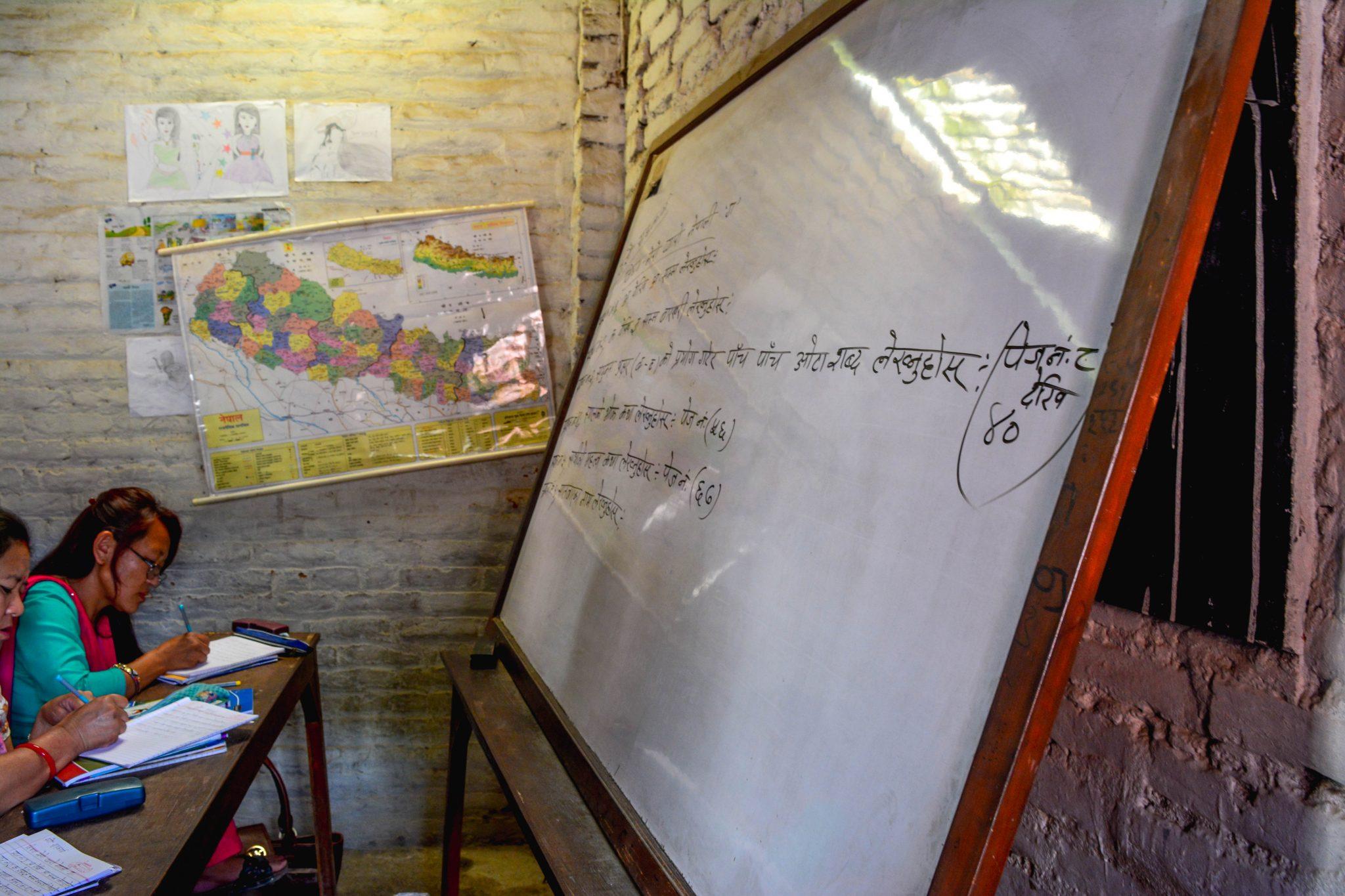 whiteboard for teaching