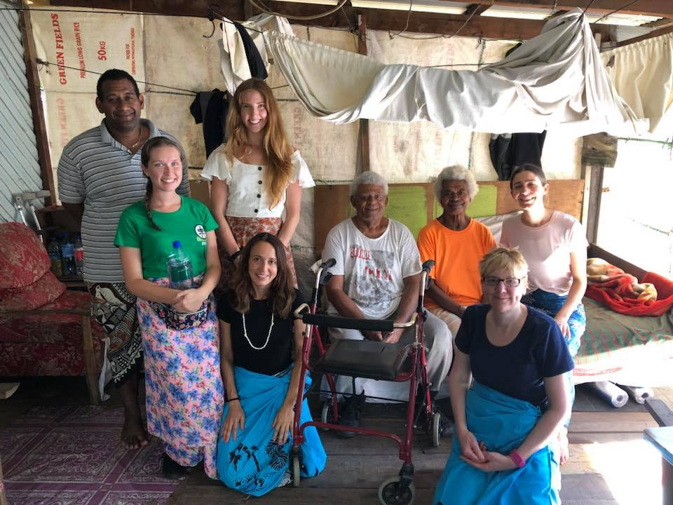 the team in fiji village care