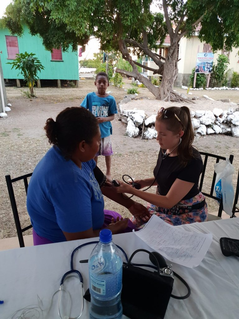 doing a health check e1536876755763 768x1024 - Fiji Public Health Outreach Paramedic Review