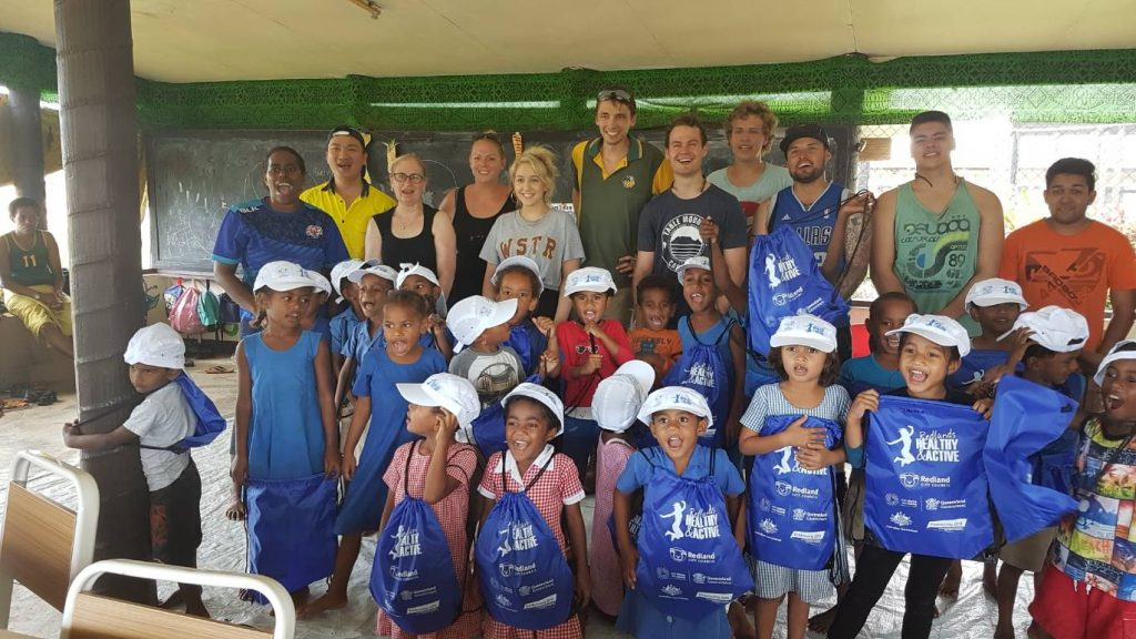 IVI volunteers in Fiji TAFE QLD college group 1024x576 - Kindergarten Rebuilding - Woman & Children's Commune Fiji