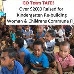 Team TAFE Kindergarten Rebuilding Fiji
