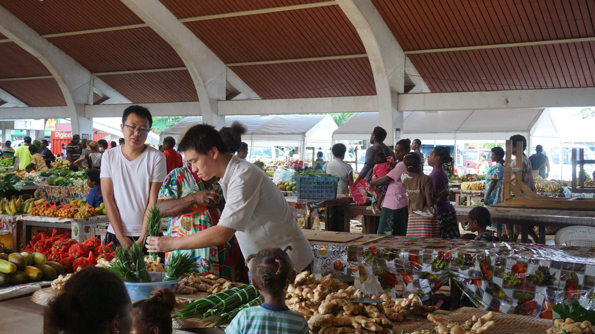 local market - A Nutrition Project Review in Vanuatu