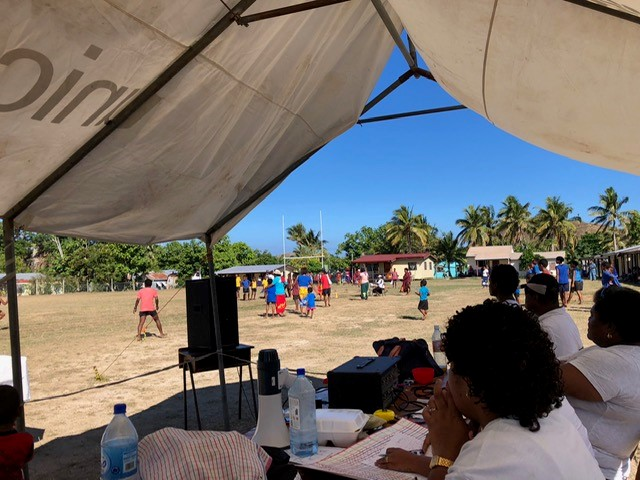 School sports program - Fiji Island Teaching Testimony