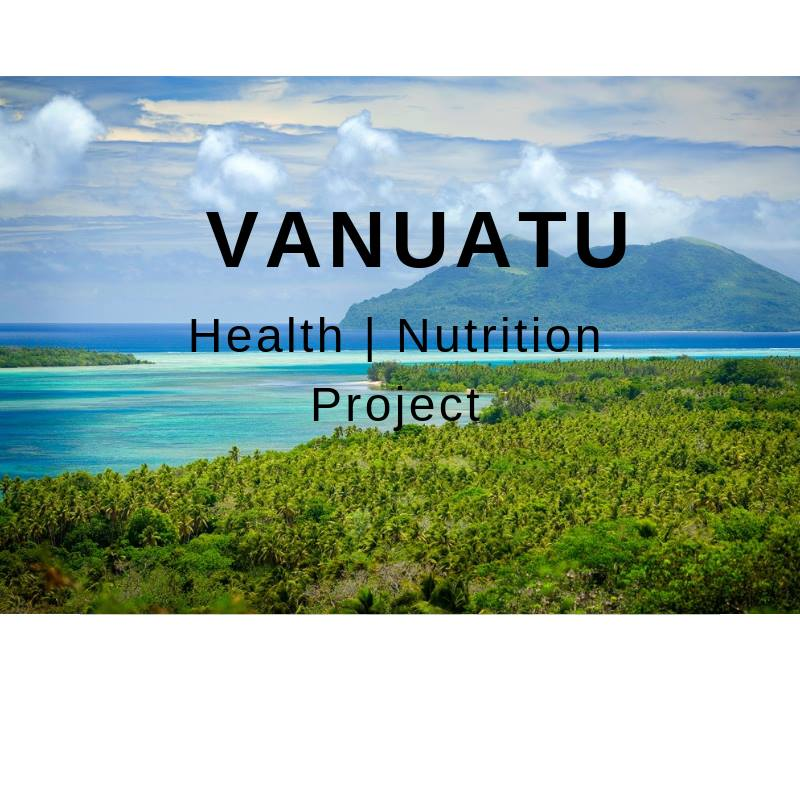 IVI vanuatu health and nutrition