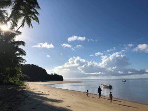 beach shot vanuatu