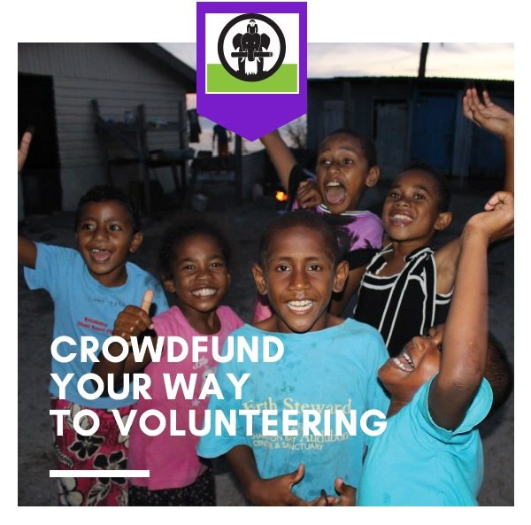 crowdfund your way to volunteering 600x593 - A Guide to Crowdfunding for IVI Volunteers