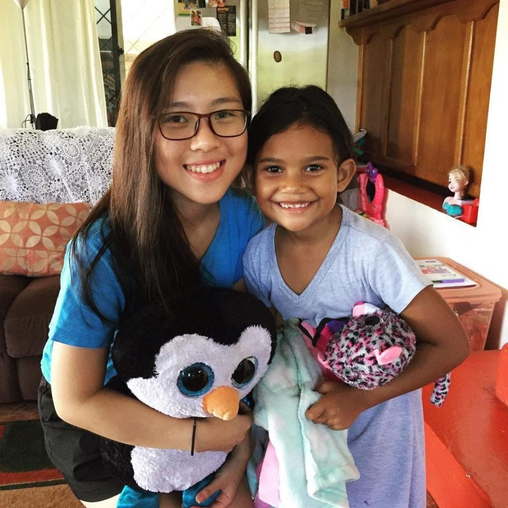 hannie tjong with cute fiji child 1024x1024 - Nutrition & Public Health 2019 Review