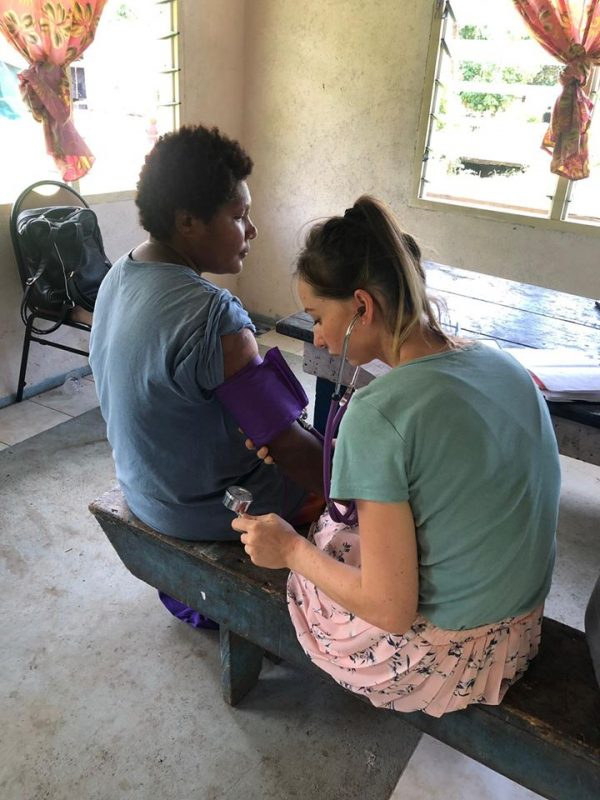 measuring blood pressure Copy 600x800 - Healthcare Outreach Samoa Report - Sheraton Resorts