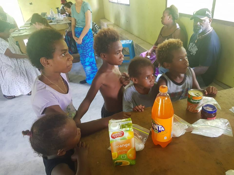 teaching about sugar in vanuatu - Vanuatu Public Health Outreach Blog - Cherry Wong Nutritionist Student