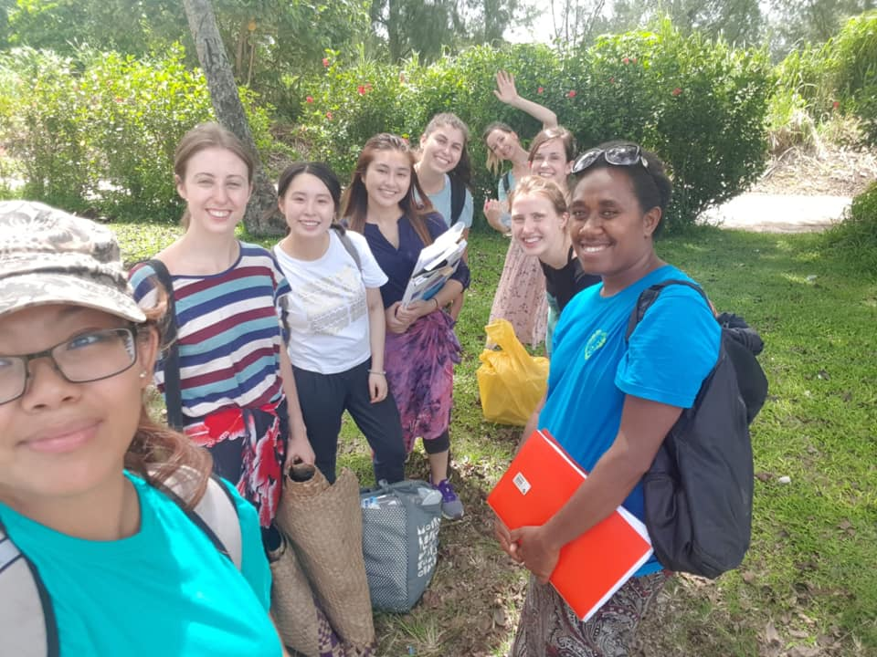 the FEB 2019 nutrition team IVI Vanuatu!