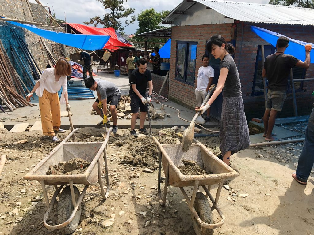 Construction Dec 2018 3 1024x768 - Community Construction Nepal 2018