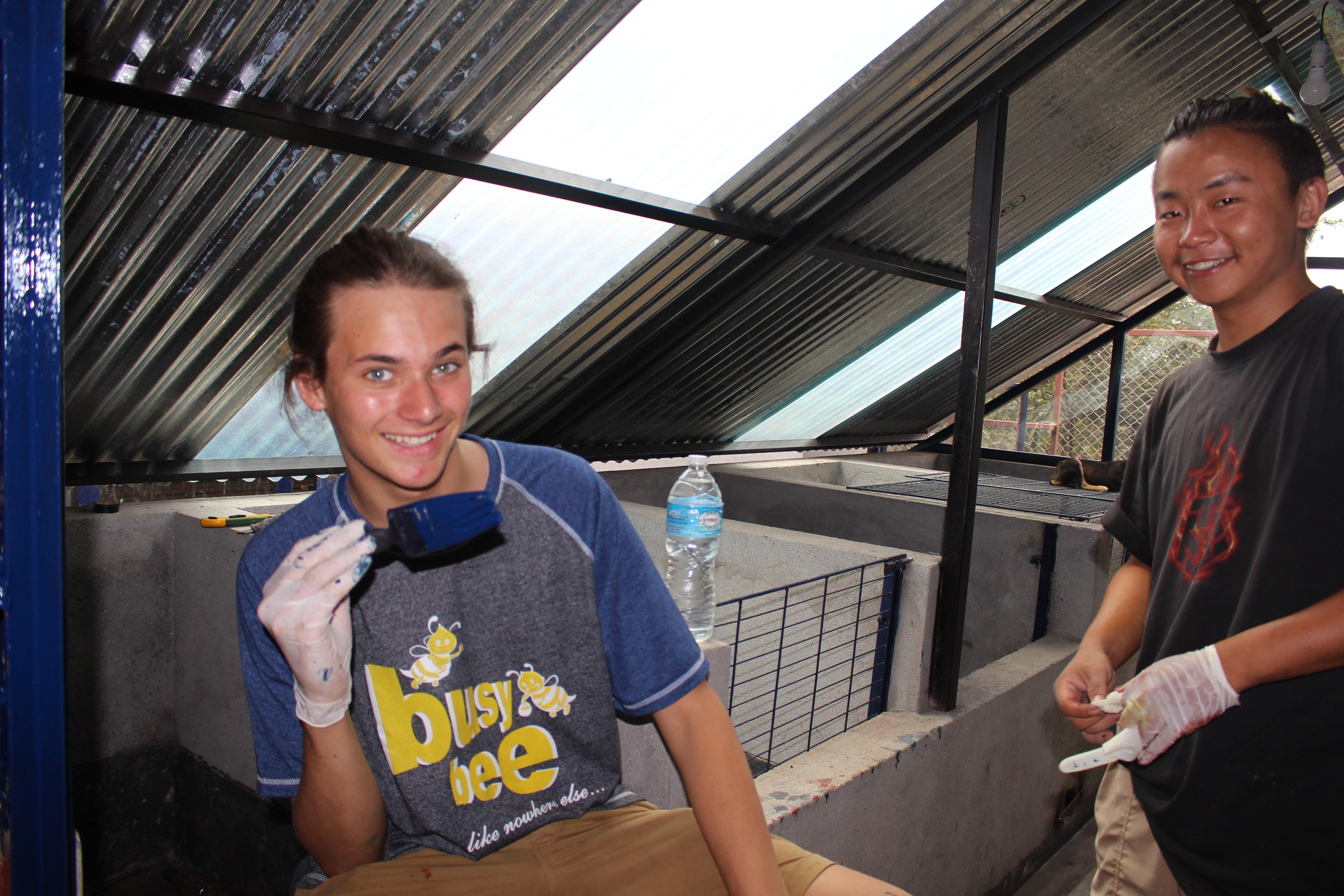 Nepal volunteering construction IVI