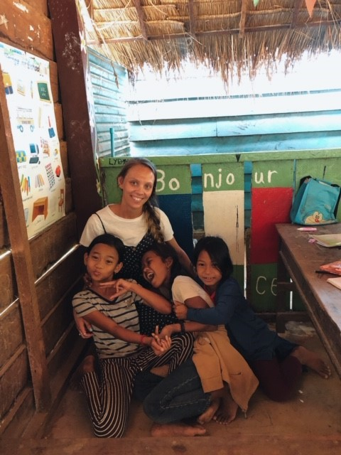 Georgina in cambodia