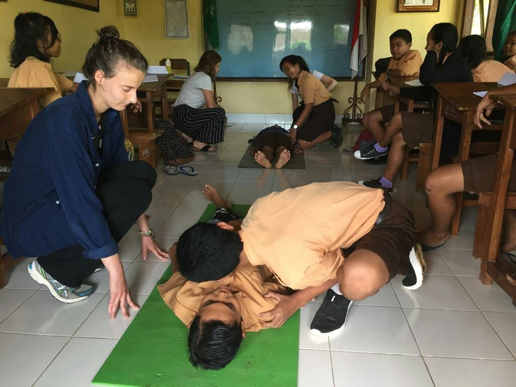 teaching in bali IVI