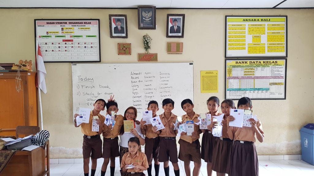 Kath Gajo volunteer teacher in bali 1024x576 - Healthcare Education Experience Bali