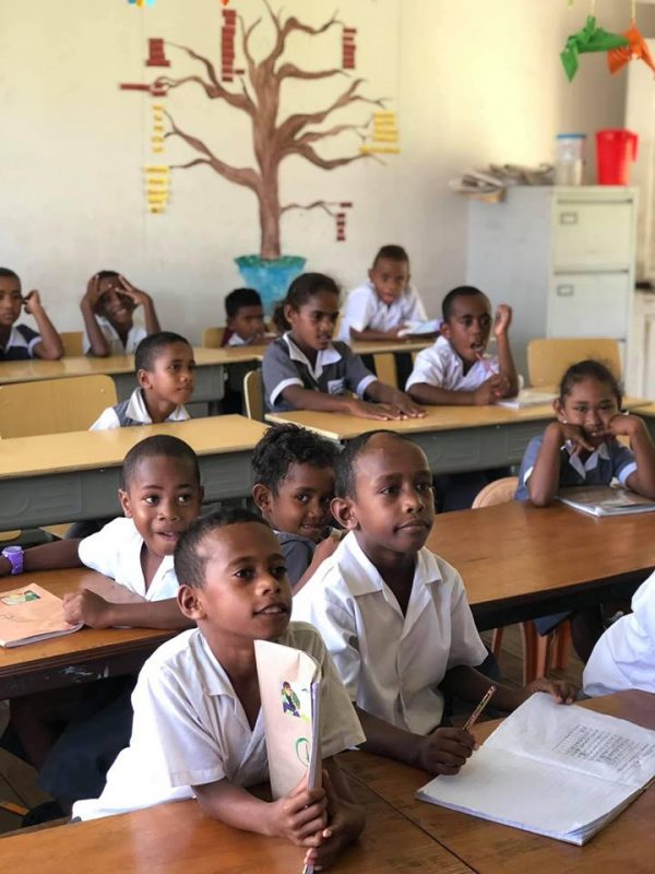 fiji school classroom 600x800 - Remote Island Teaching Review by Alex