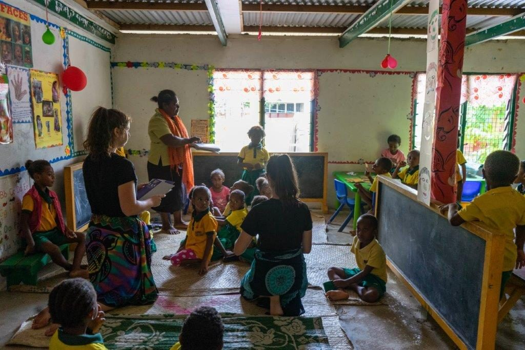 classroom fun in vanuatu 1024x682 - Vanuatu Review
